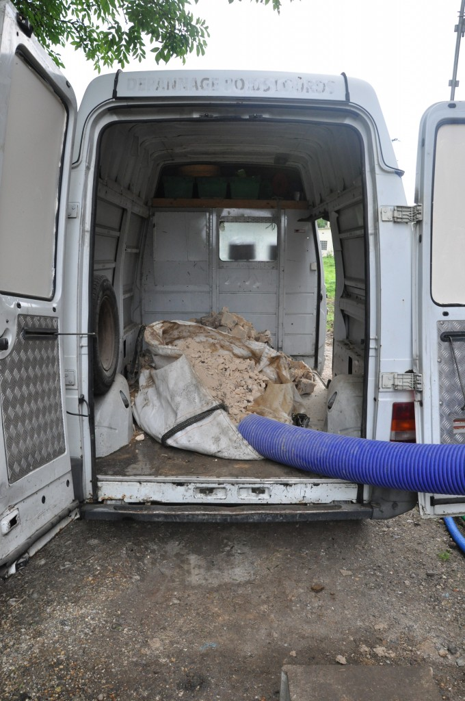 Evacuation des gravats de l 39 tage notre grange - Evacuation des gravats ...